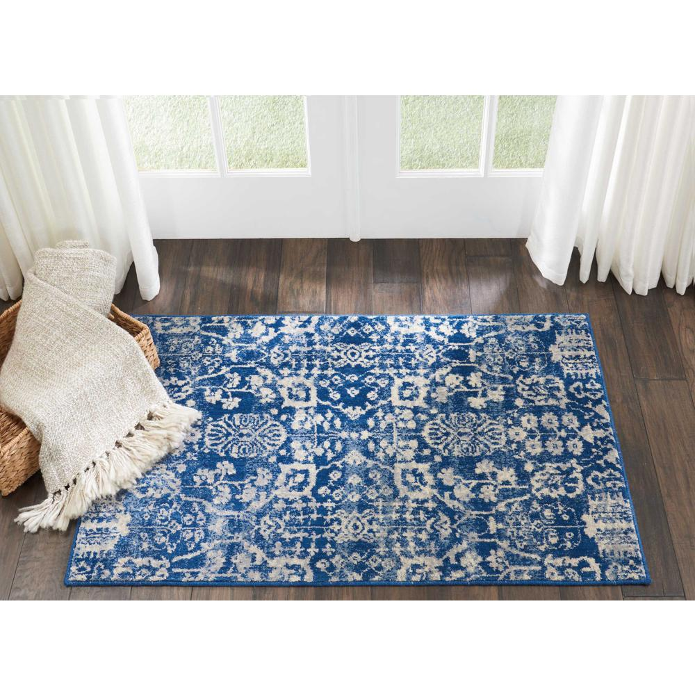 Nourison Somerset Navy Area Rug. Picture 3