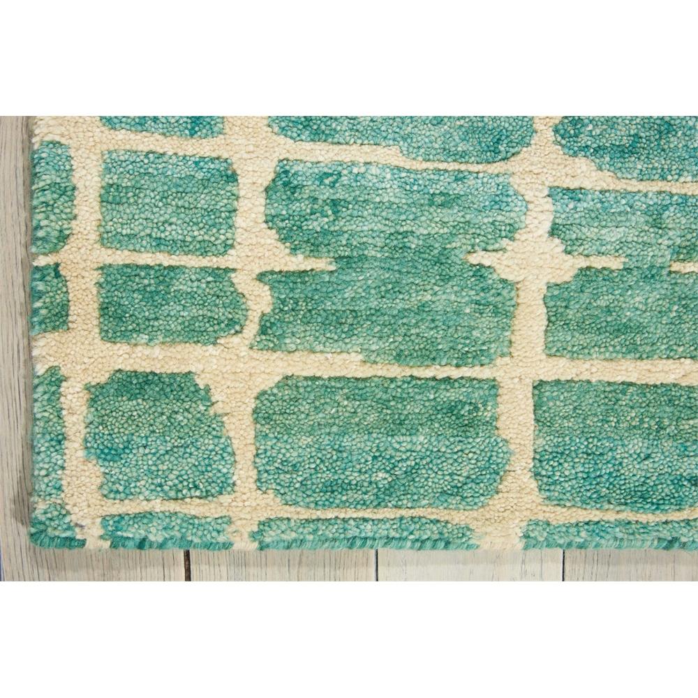 Tahoe Modern Turquoise Green Area Rug