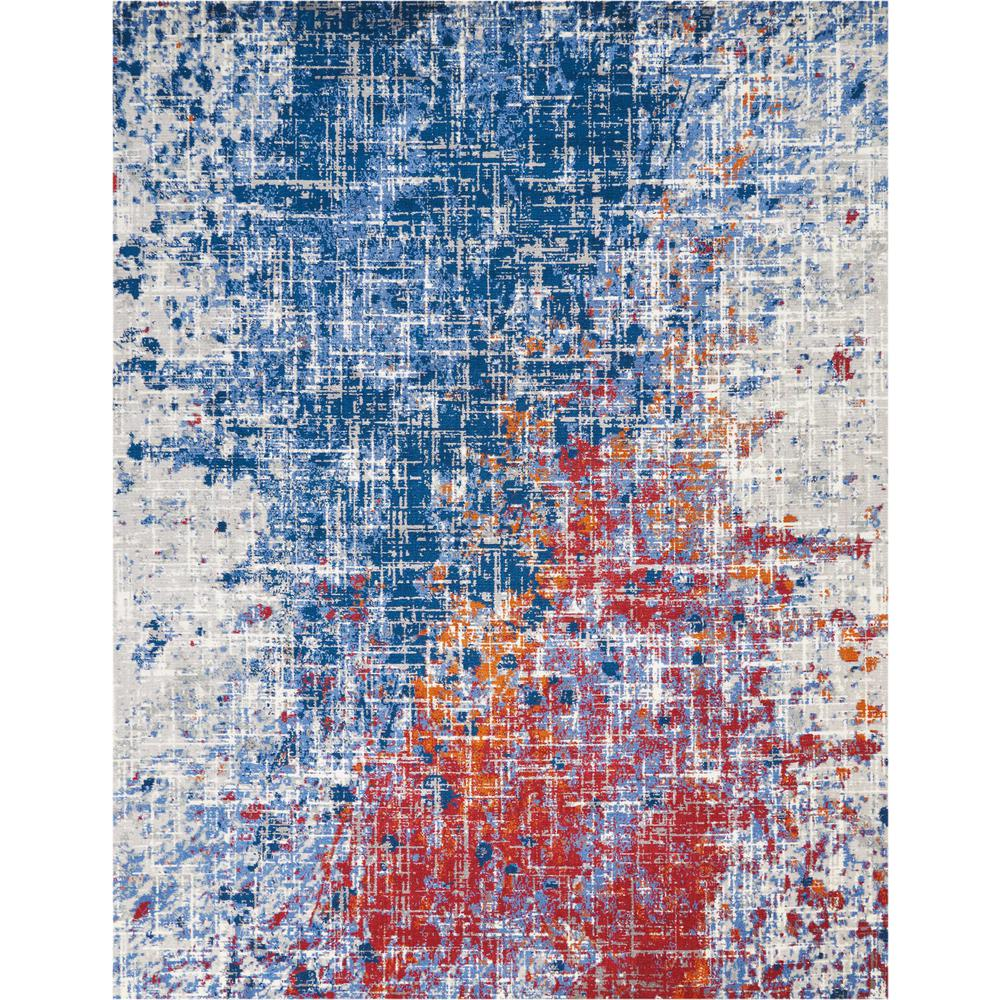Twilight Area Rug, Red/Blue, 12' x 15'. Picture 1