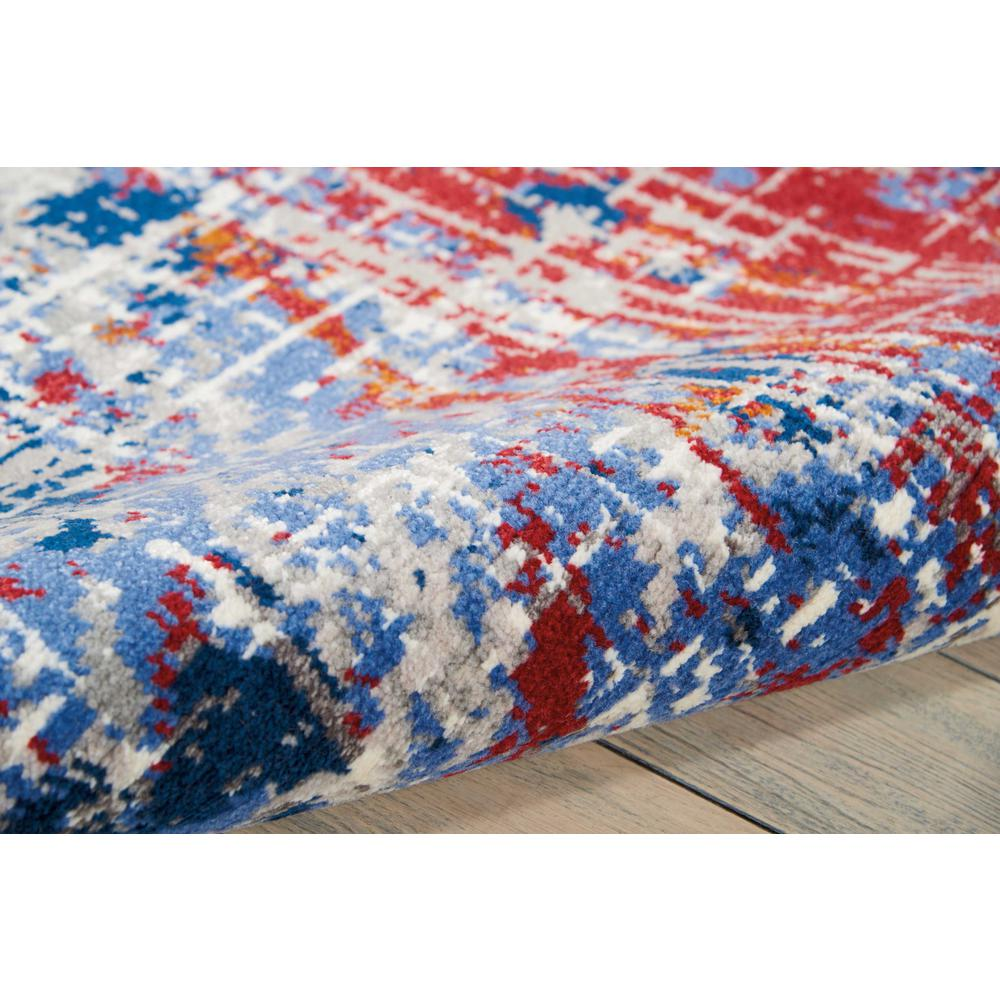 Twilight Area Rug, Red/Blue, 12' x 15'. Picture 5