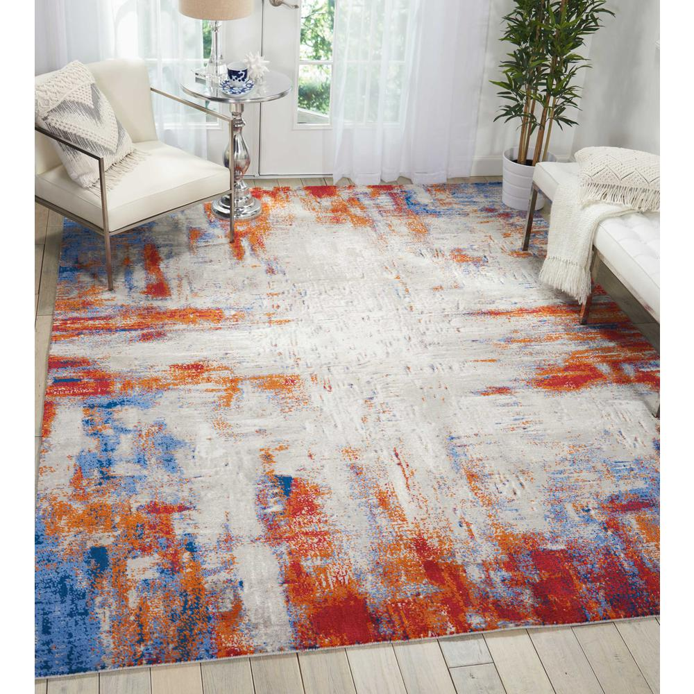 Twilight Area Rug, Ivory/Multicolor, 12' x 15'. Picture 2