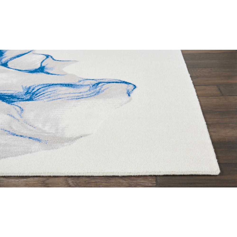 """Twilight Area Rug, Ivory/Blue, 8'6"""" x 11'6"""". Picture 3"""