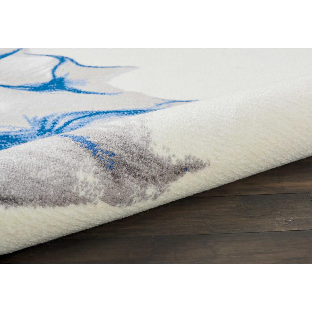 """Twilight Area Rug, Ivory/Blue, 8'6"""" x 11'6"""". Picture 5"""