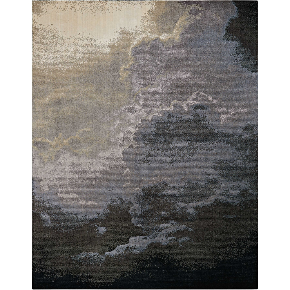 "Twilight Area Rug, Storm, 7'9"" x 9'9"". Picture 1"
