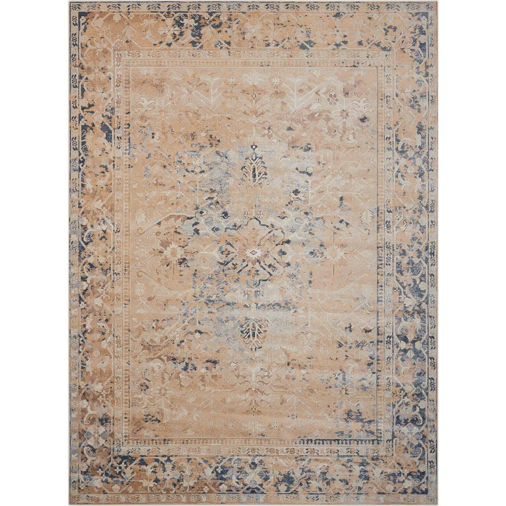 "KI25 Malta Area Rug, Taupe, 5'3"" x 7'7"". The main picture."