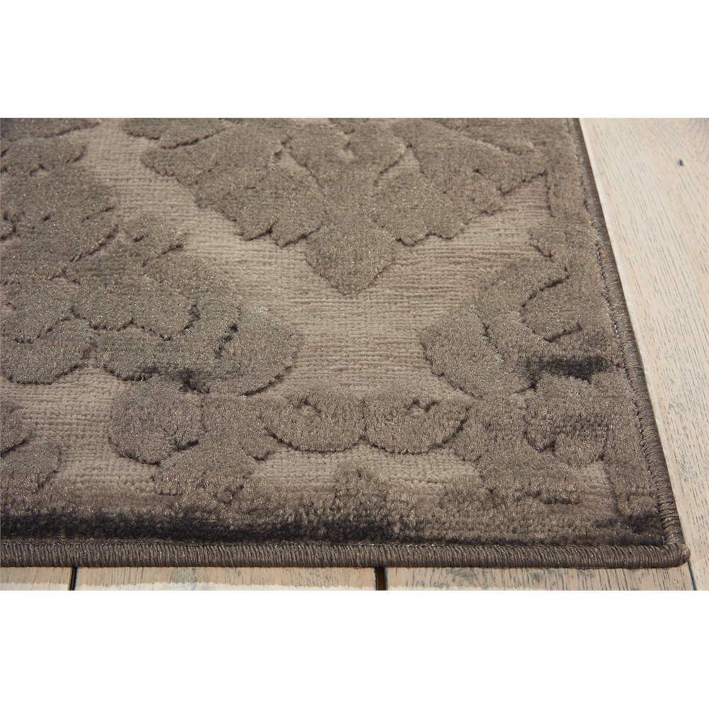 Ultima Silver Grey Area Rug. Picture 3