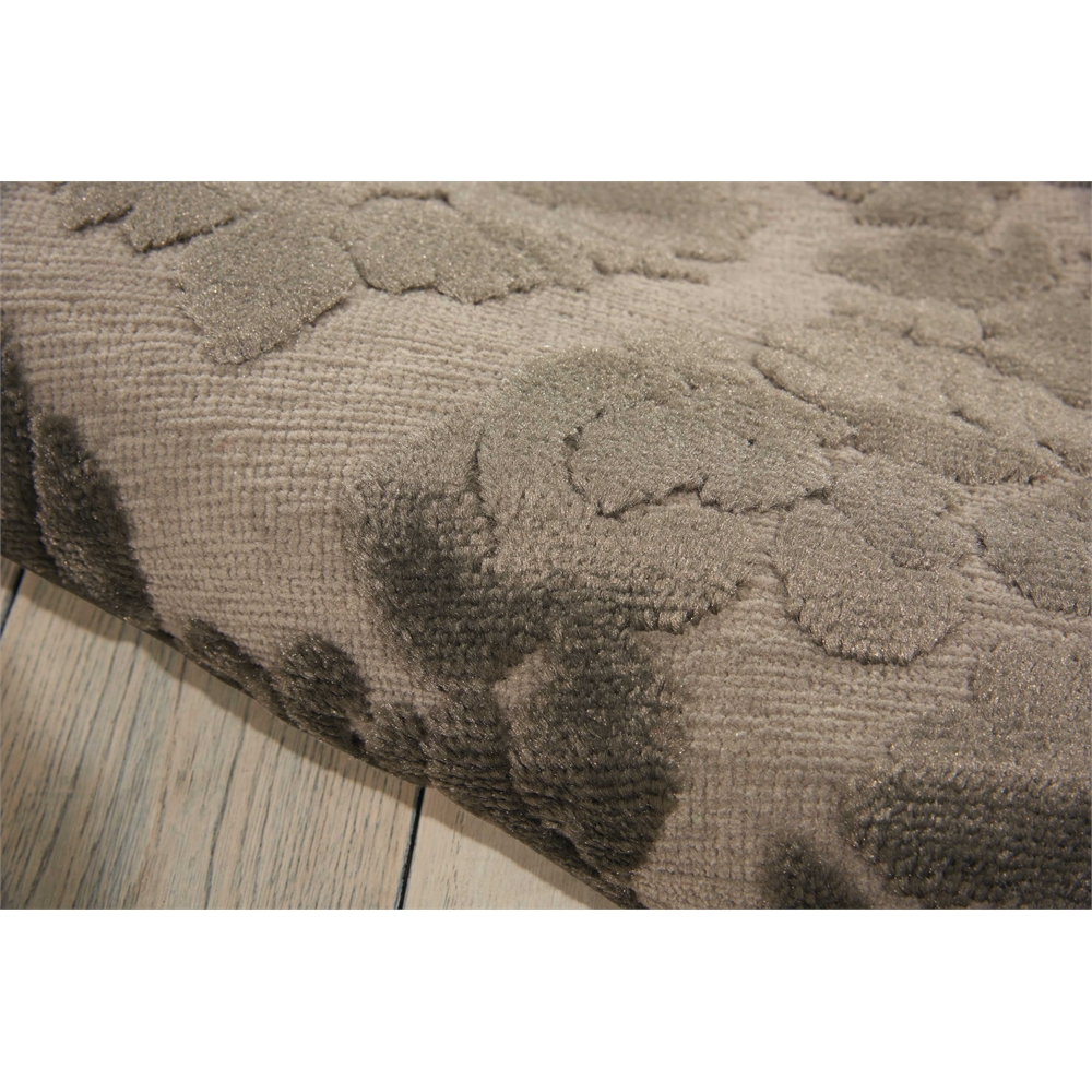 Ultima Silver Grey Area Rug. Picture 4
