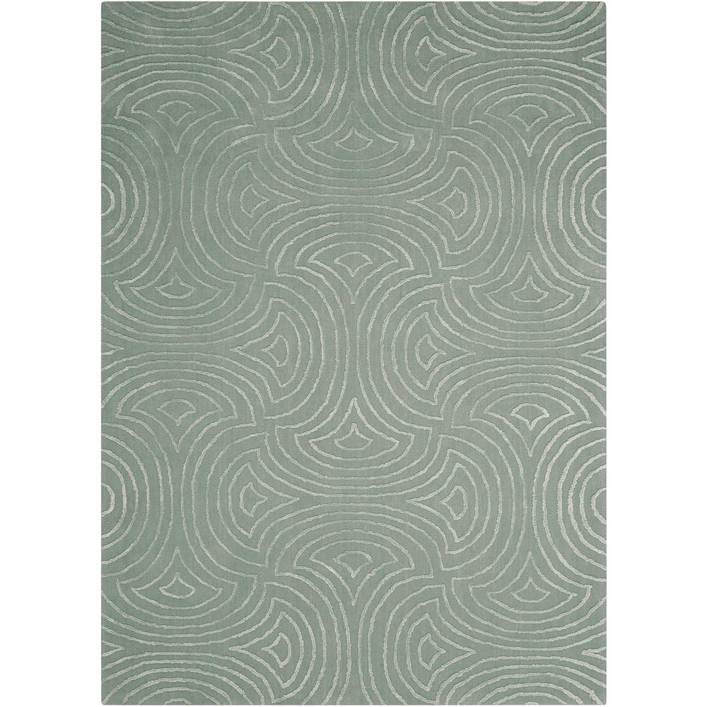 Vita Area Rug, Sage, 8' x 10'. The main picture.