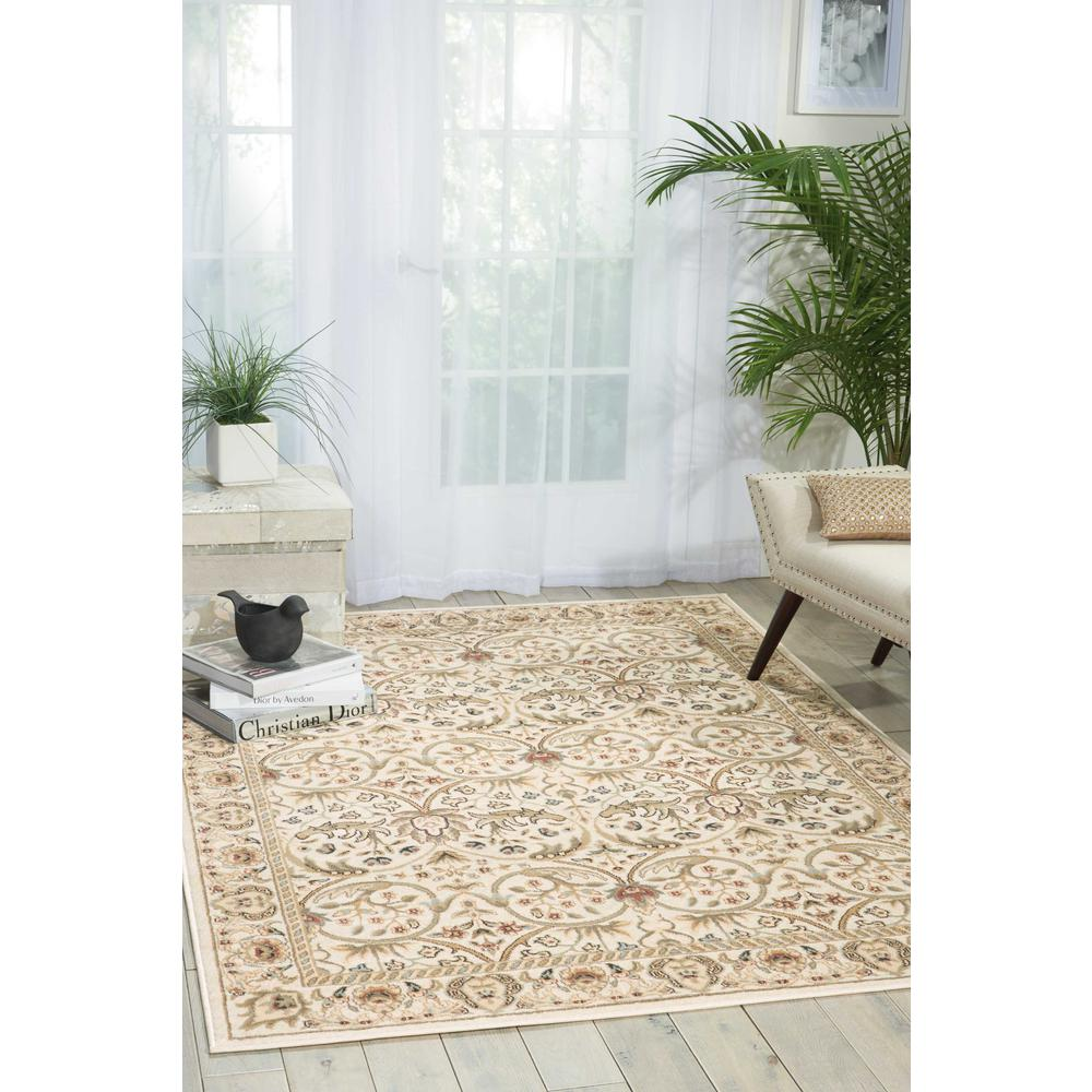 "Walden Area Rug, Ivory, 9'3"" x 12'9"". Picture 2"