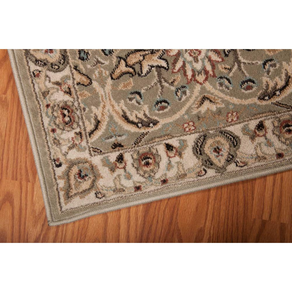 """Walden Area Rug, Light Green, 5'3"""" x 7'4"""". Picture 5"""