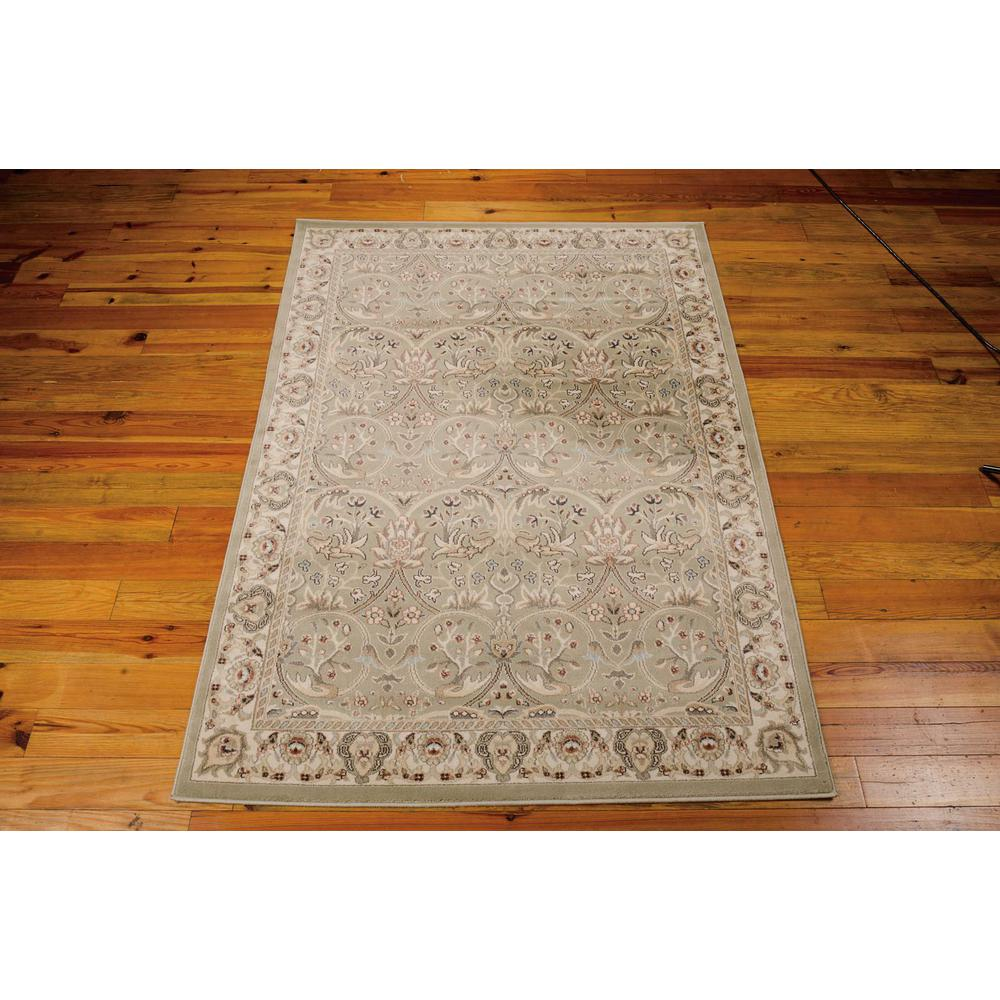 """Walden Area Rug, Light Green, 5'3"""" x 7'4"""". Picture 3"""