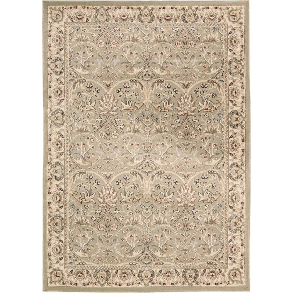 """Walden Area Rug, Light Green, 5'3"""" x 7'4"""". Picture 1"""