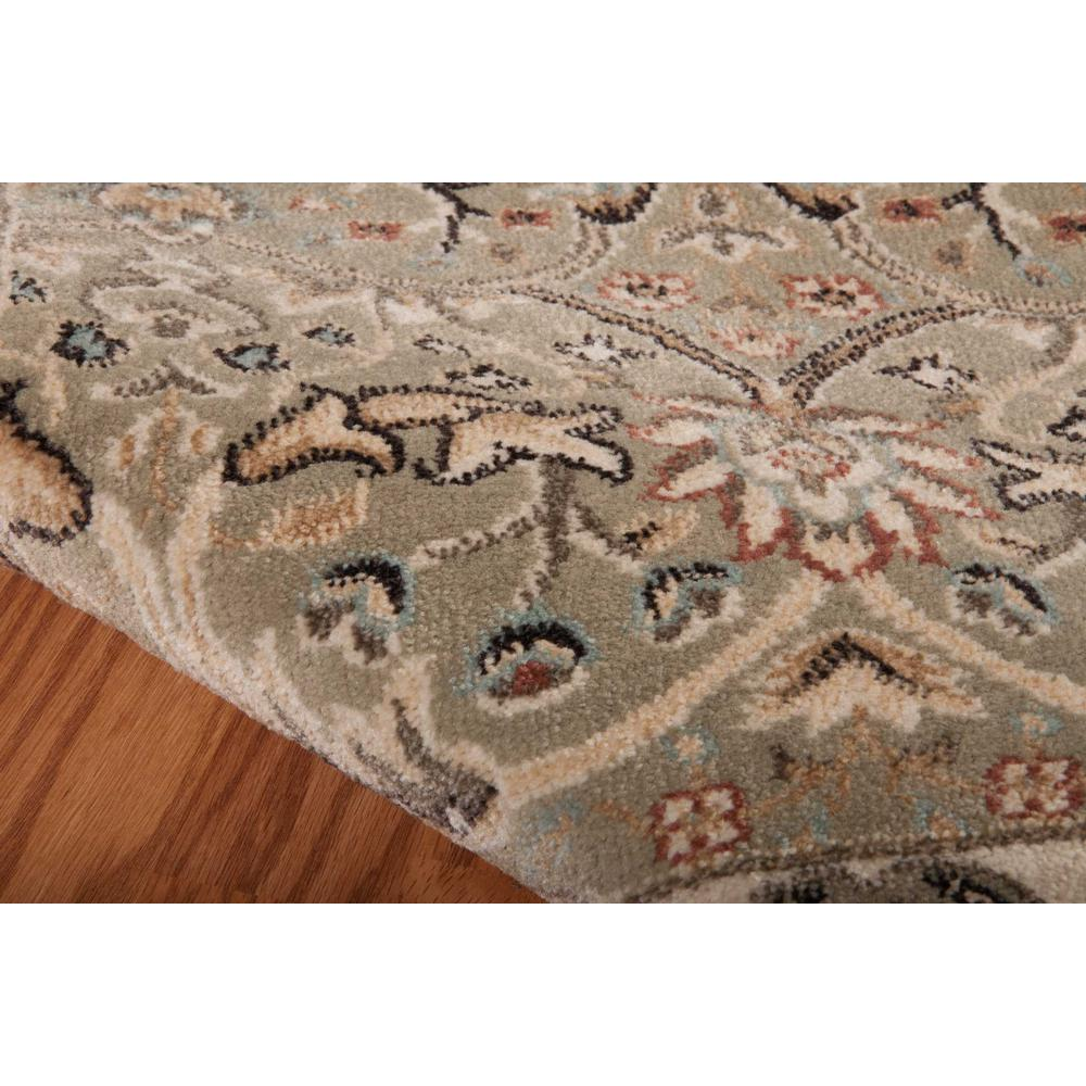 """Walden Area Rug, Light Green, 5'3"""" x 7'4"""". Picture 6"""