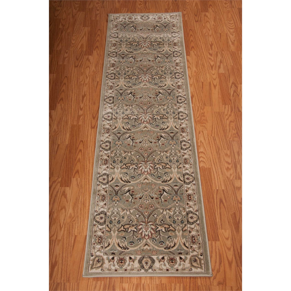"""Walden Area Rug, Light Green, 2'2"""" x 7'6"""". Picture 3"""