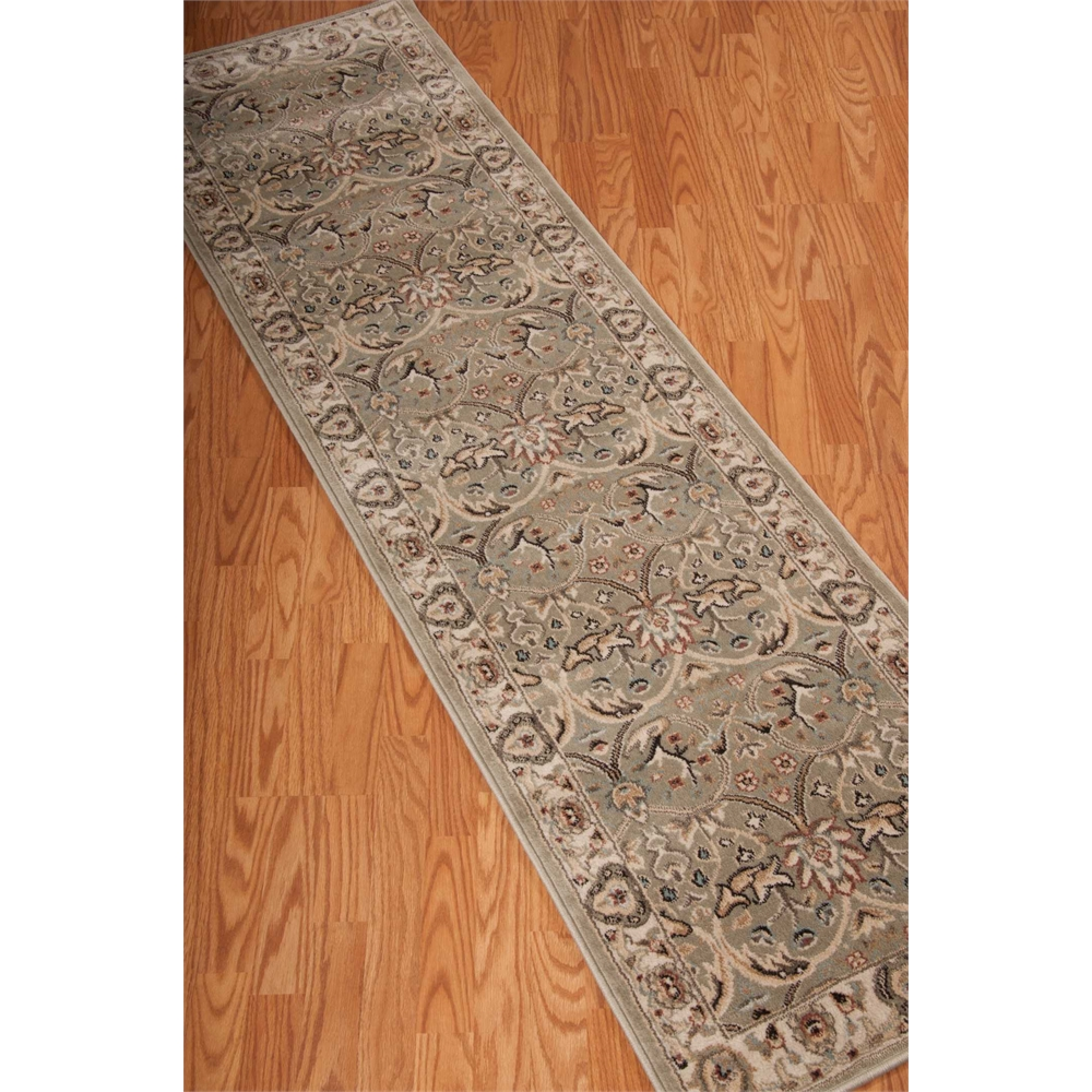 """Walden Area Rug, Light Green, 2'2"""" x 7'6"""". Picture 4"""