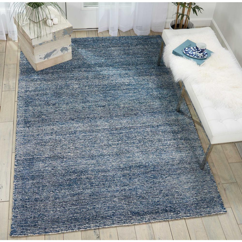 "Weston Area Rug, Aegean Blue, 3'9"" x 5'9"". Picture 2"
