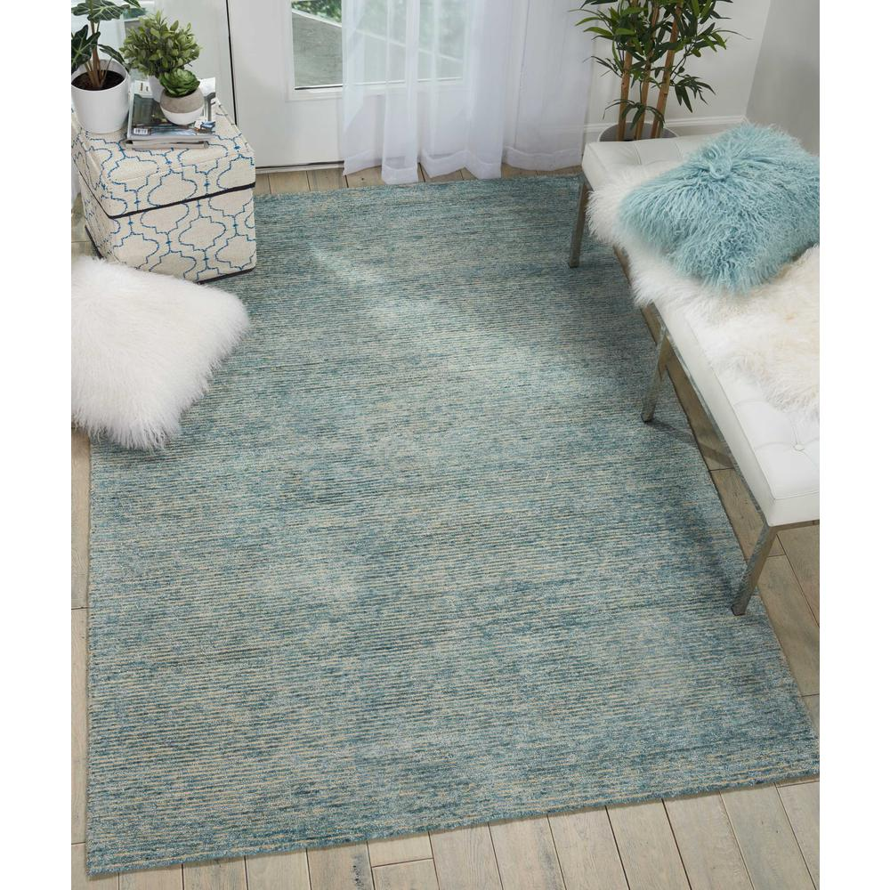 "Weston Area Rug, Seafoam, 9'6"" x 13'. Picture 2"