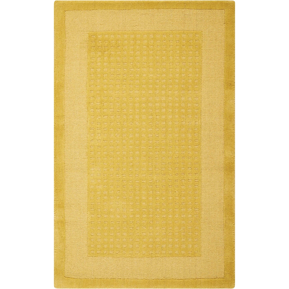"Westport Area Rug, Yellow, 2'6"" x 4'. The main picture."