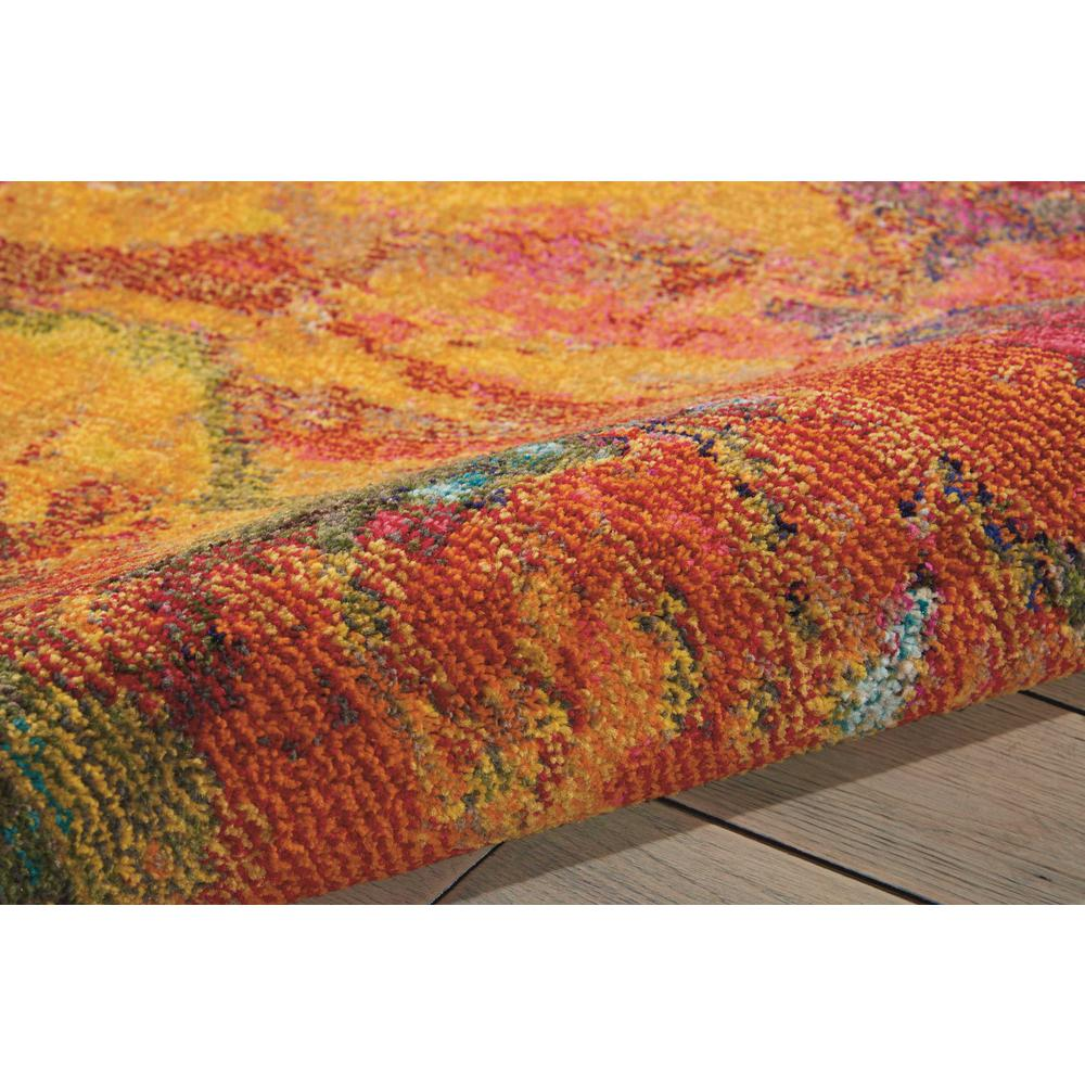 "Celestial Area Rug, Cayenne, 3'11"" x 5'11"". Picture 10"