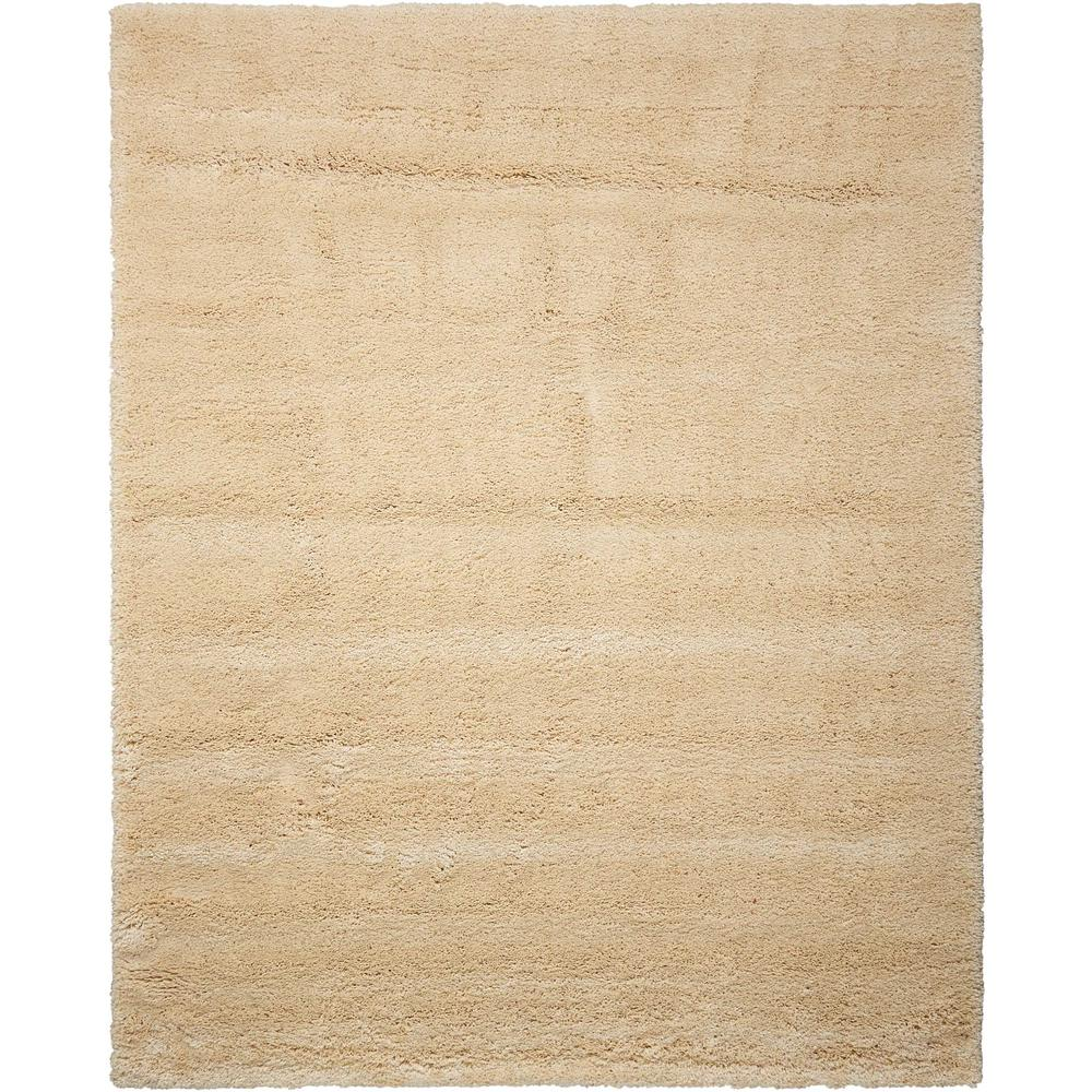 "Yummy Shag Area Rug, Bone, 7'10"" x 9'10"". The main picture."