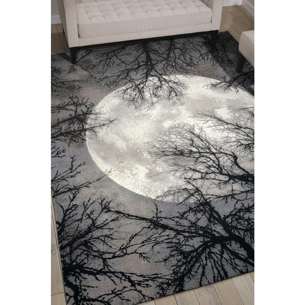 "Twilight Area Rug, Moon, 9'9"" x 13'9"". Picture 4"