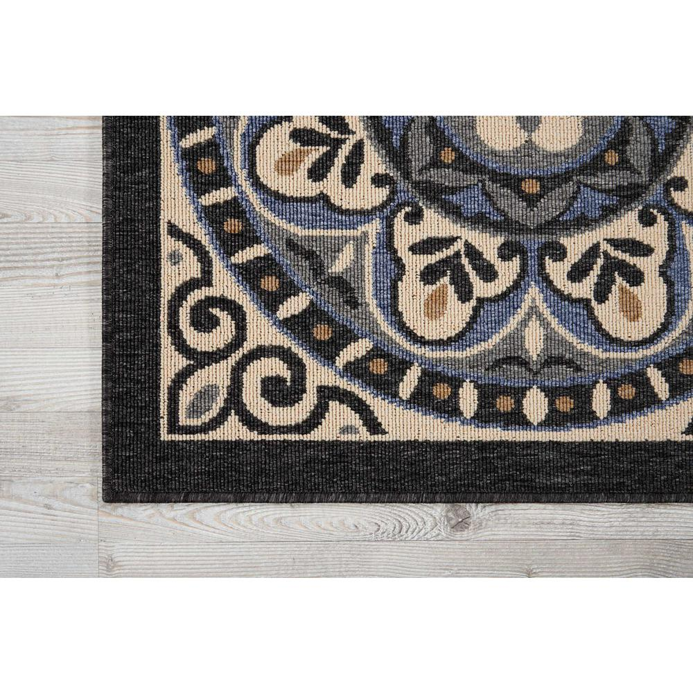 """Caribbean Area Rug, Ivory/Charcoal, 9'3"""" x 12'9"""". Picture 2"""