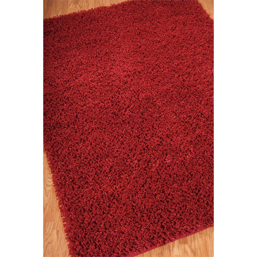 Zen Red Shag Area Rug
