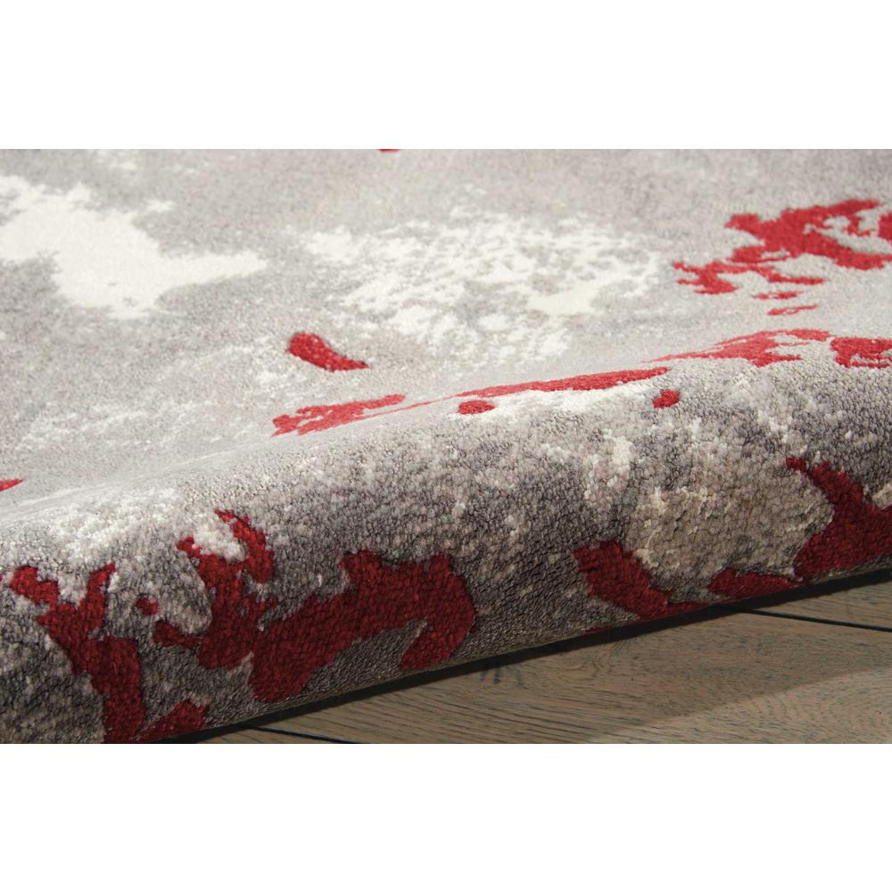 Twilight Area Rug, Grey/Red, 12' x 15'. Picture 3