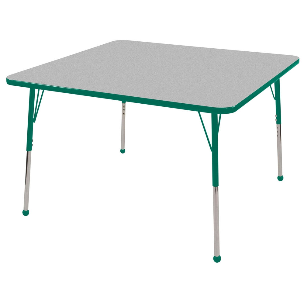 30 Square T Mold Activity Table Grey Green Toddler Ball