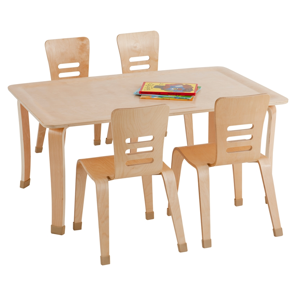 30 Quot Round Bentwood Table With 20 Quot Legs