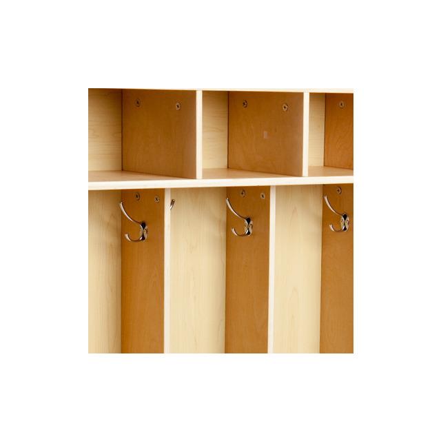 Hook Hardware Set For Coat Locker 10 Pack