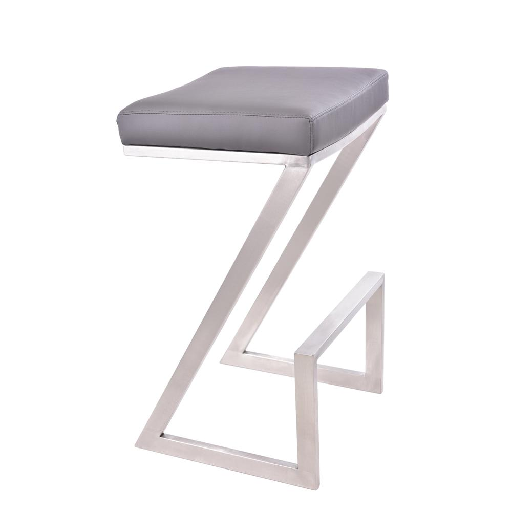 Armen Living Atlantis 26 Quot Counter Height Backless Barstool
