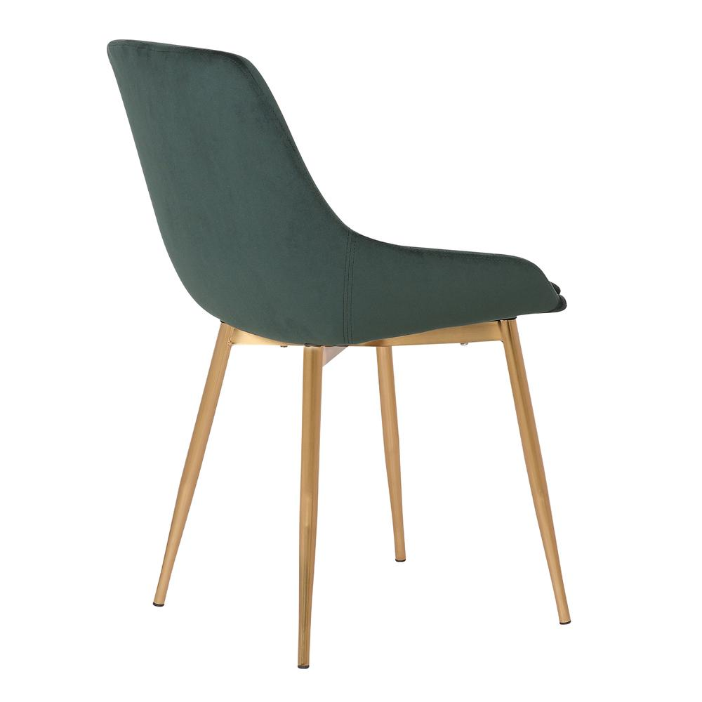 Velvet Dining Accent Chair. Picture 4