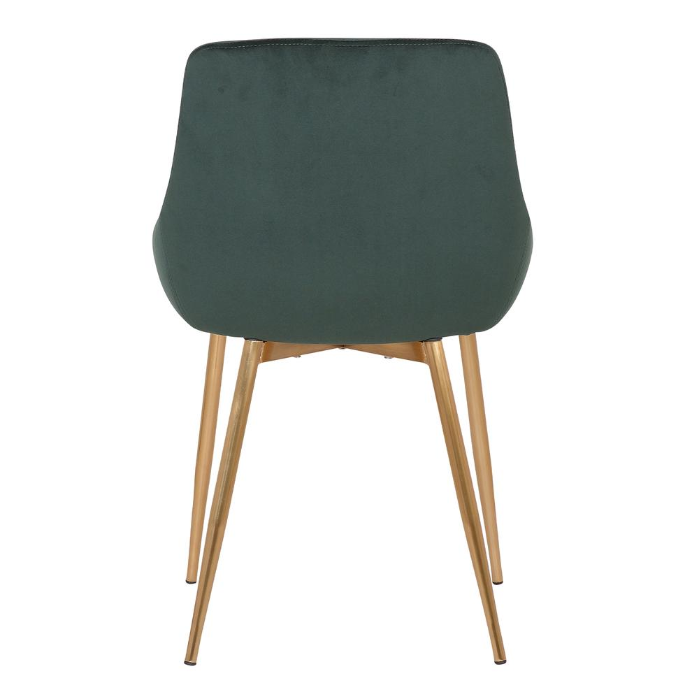 Velvet Dining Accent Chair. Picture 5