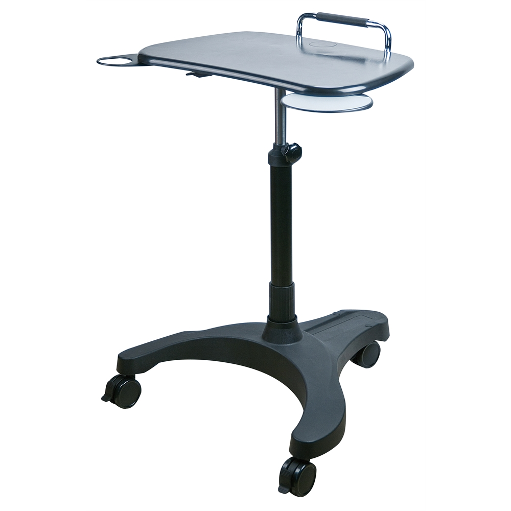 Sit/Stand Mobile Laptop Workstation. Picture 1