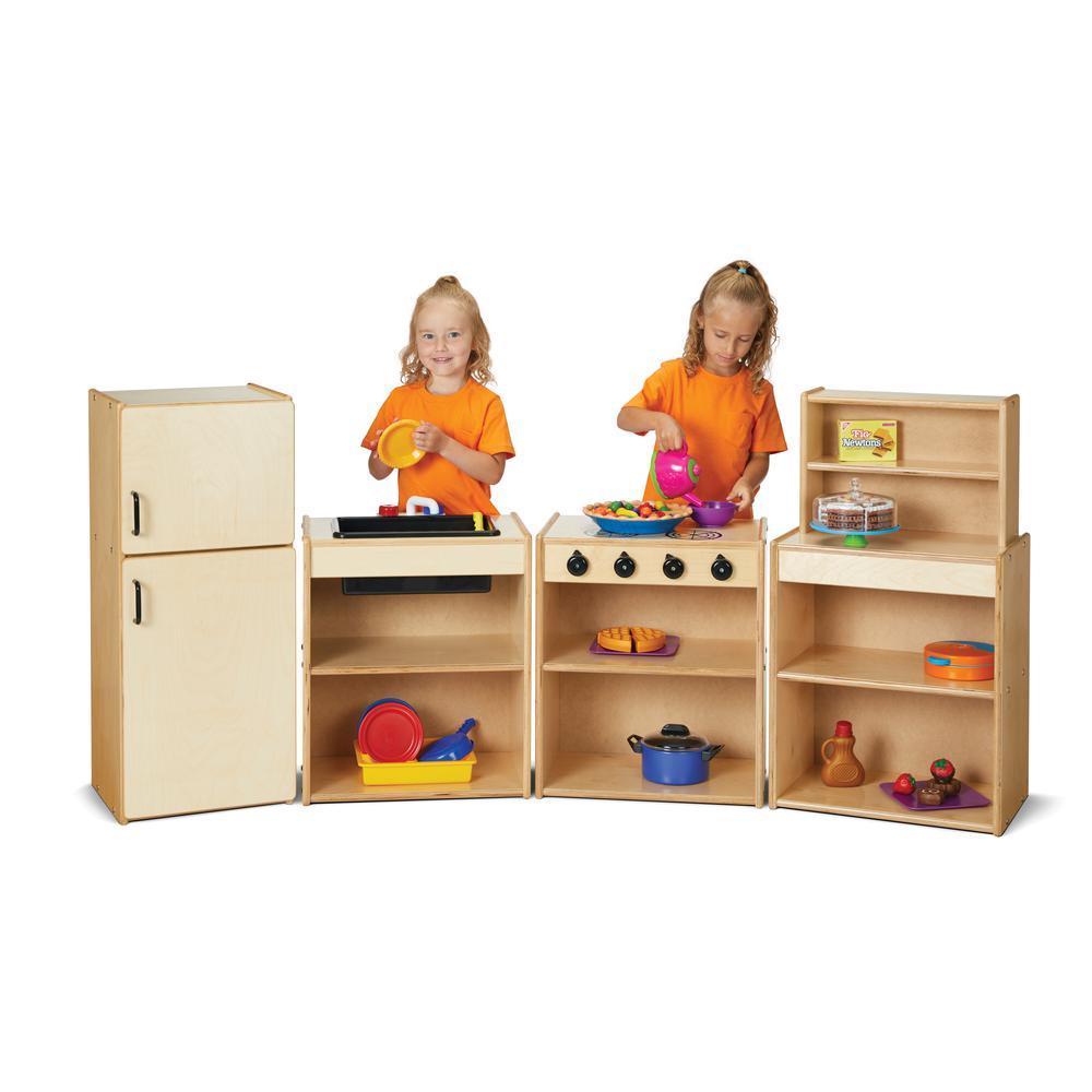 Play Kitchen 4 Piece Set. Picture 1