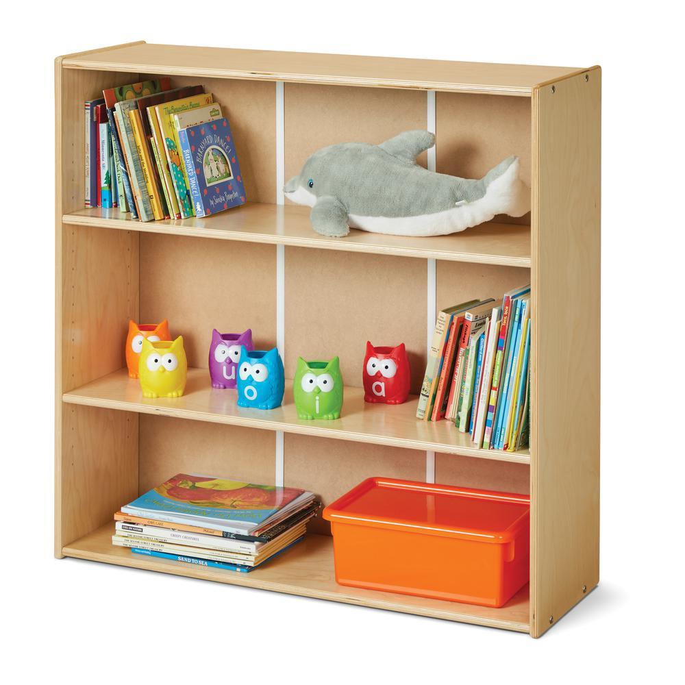 Short Adjustable Shelf Bookcase. Picture 2