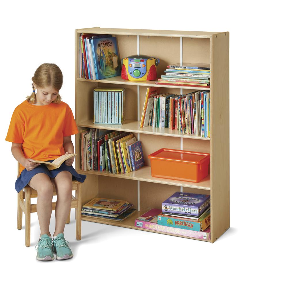 Standard Adjustable Shelf Bookcase. Picture 1