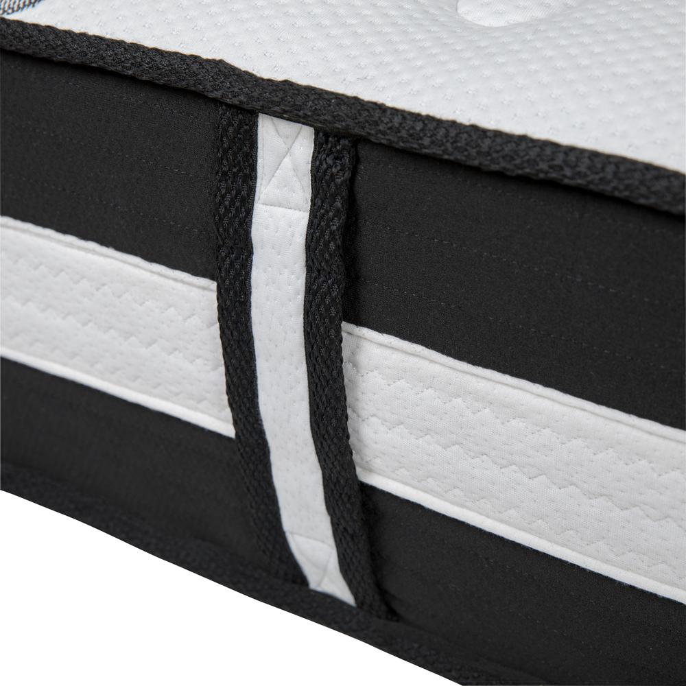 Capri Comfortable Sleep 12 Inch Foam and Pocket Spring Mattress, Twin Mattress in a Box. Picture 5