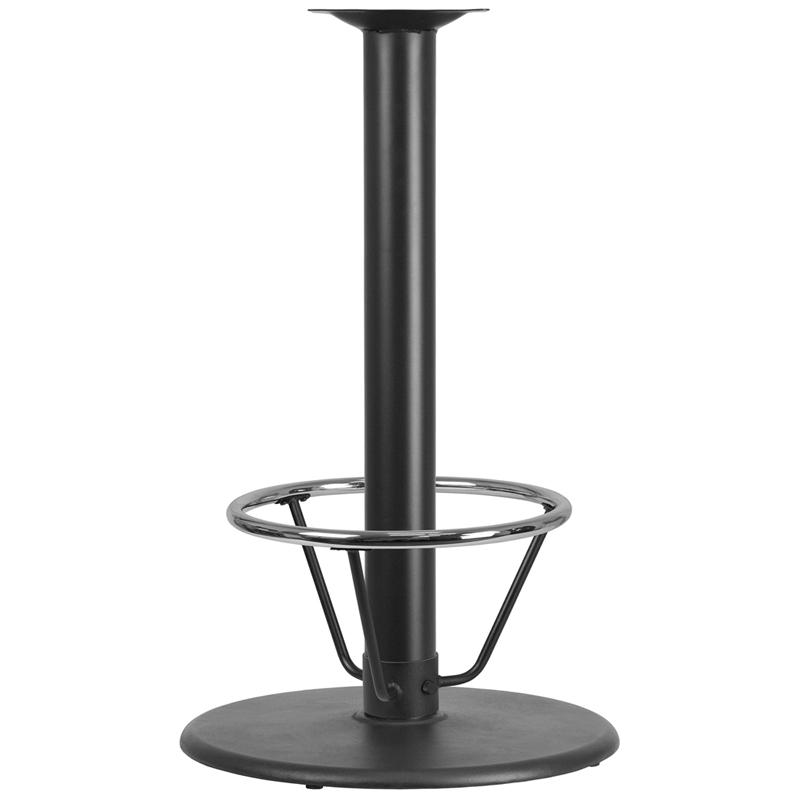 24 Round Restaurant Table Base With 4 Dia Bar Height