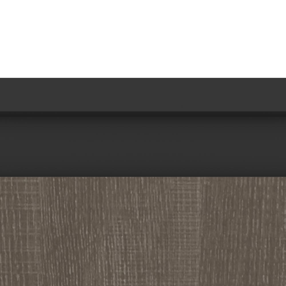 Orion  30W 30W Storage Cabinet with Pull-Out Shelf in bark gray and graphite. Picture 6
