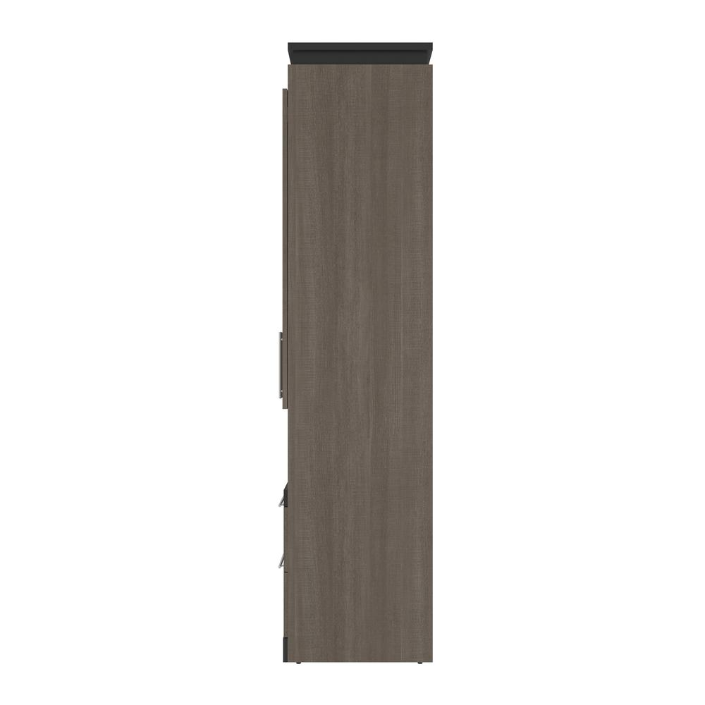 Orion  30W 30W Storage Cabinet with Pull-Out Shelf in bark gray and graphite. Picture 7