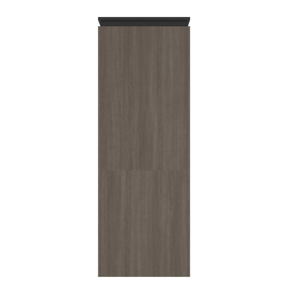Orion  30W 30W Storage Cabinet with Pull-Out Shelf in bark gray and graphite. Picture 8