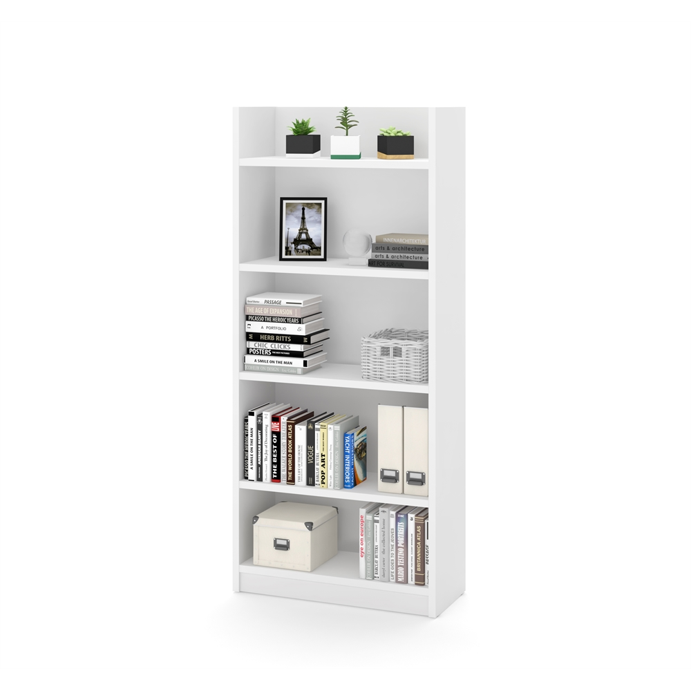 Pro-Linea Bookcase in White. Picture 1