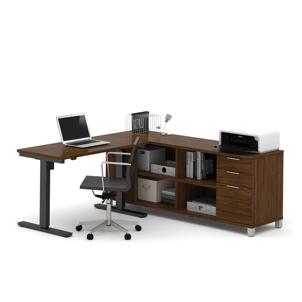 Pro Linea L Desk Including Electric Height Adjustable