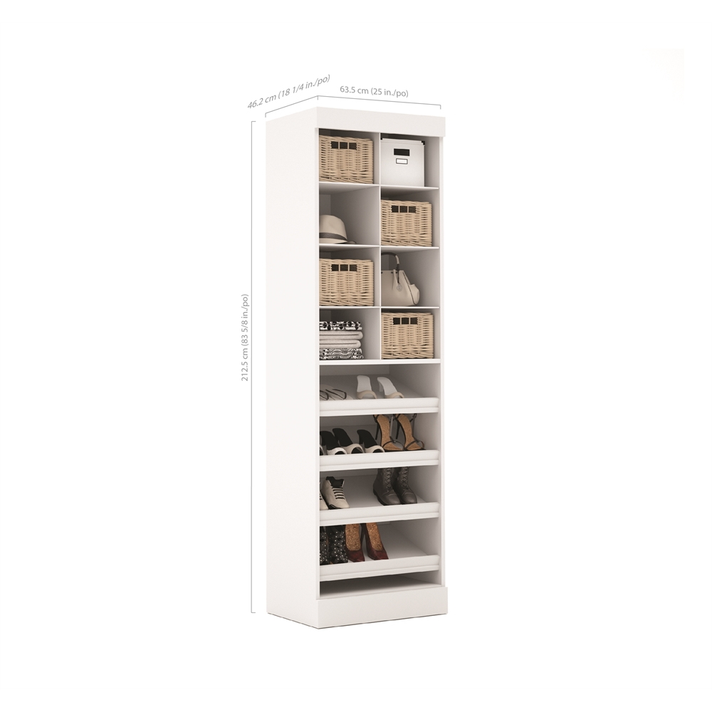 Pur 25 Quot Multi Storage Cubby In White