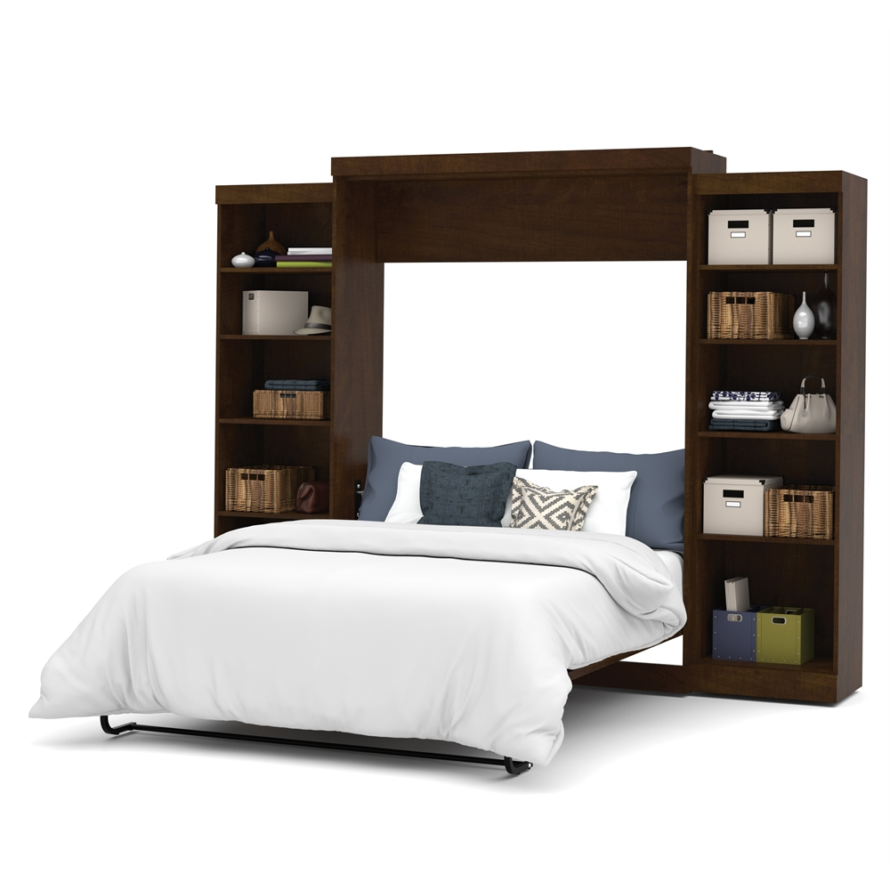"""Pur 115"""" Queen Wall bed kit in Chocolate"""