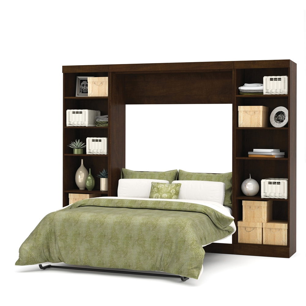 Pur 109 Quot Full Wall Bed Kit In Chocolate