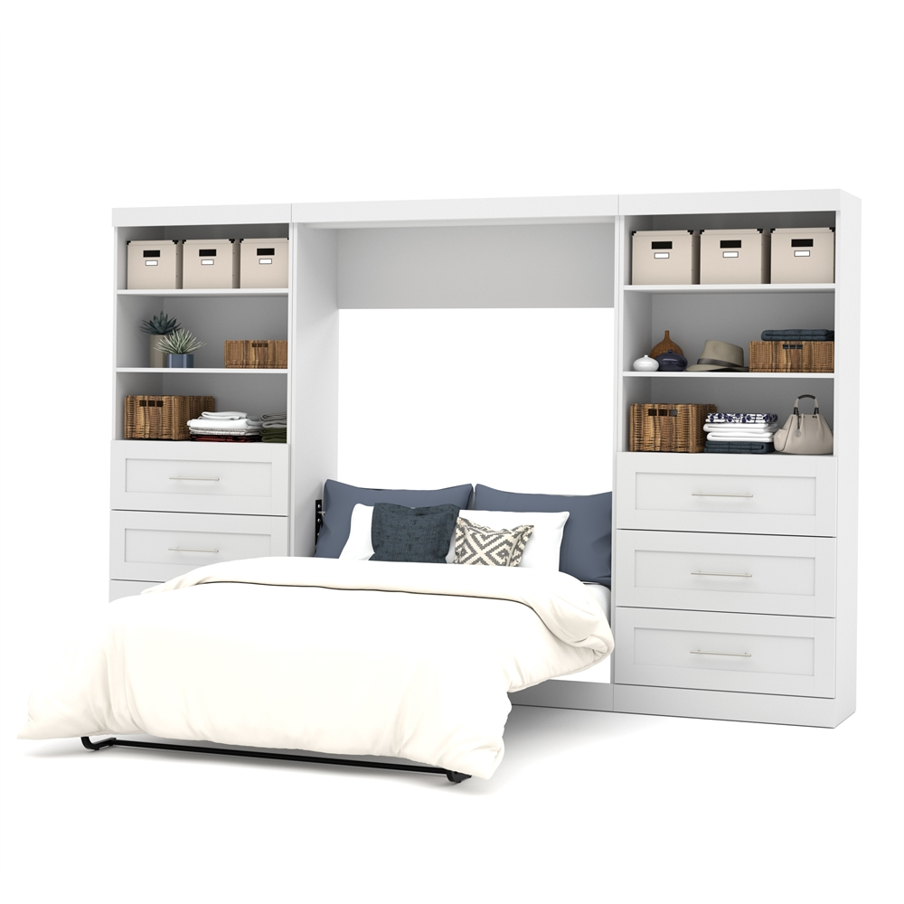 pur 131 full wall bed kit in white. Black Bedroom Furniture Sets. Home Design Ideas