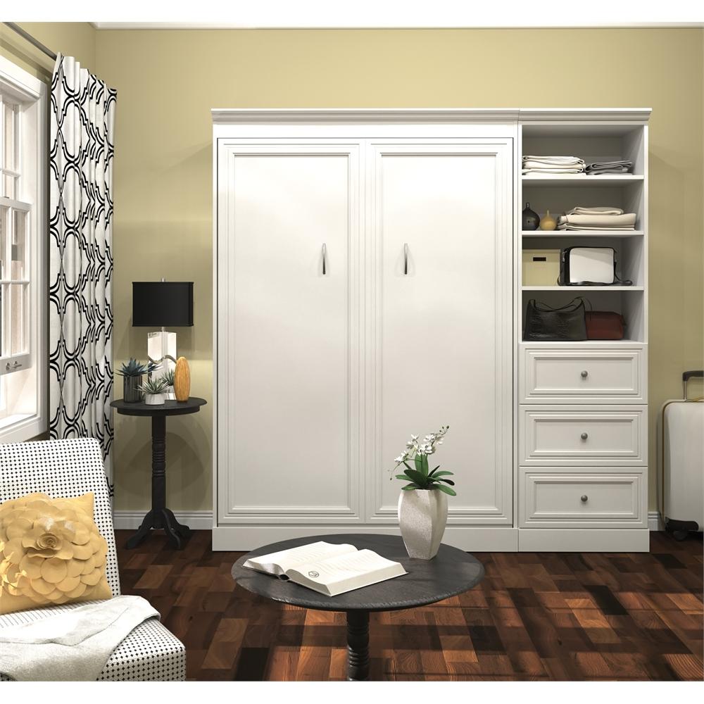 Versatile 84 Full Wall Bed Kit In White